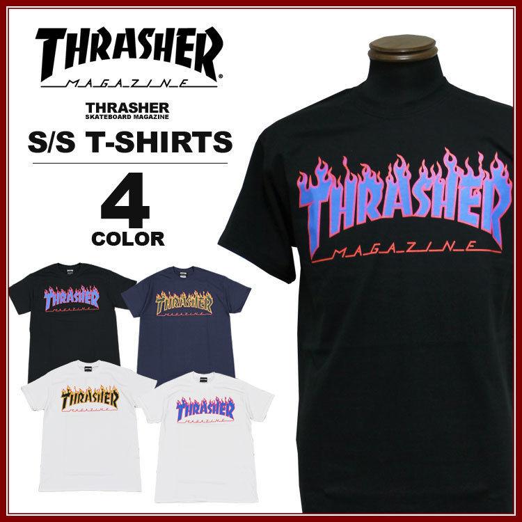 THRASHER (スラッシャー)半袖Tシャツ 「FLAME 3C T-SHIRTS」