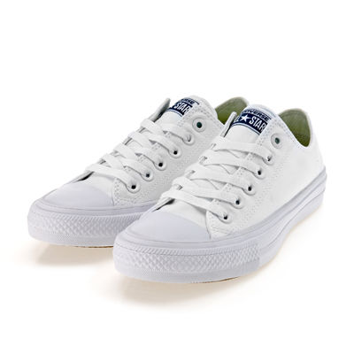 Chuck Taylor All Star II OX White/White/Navy