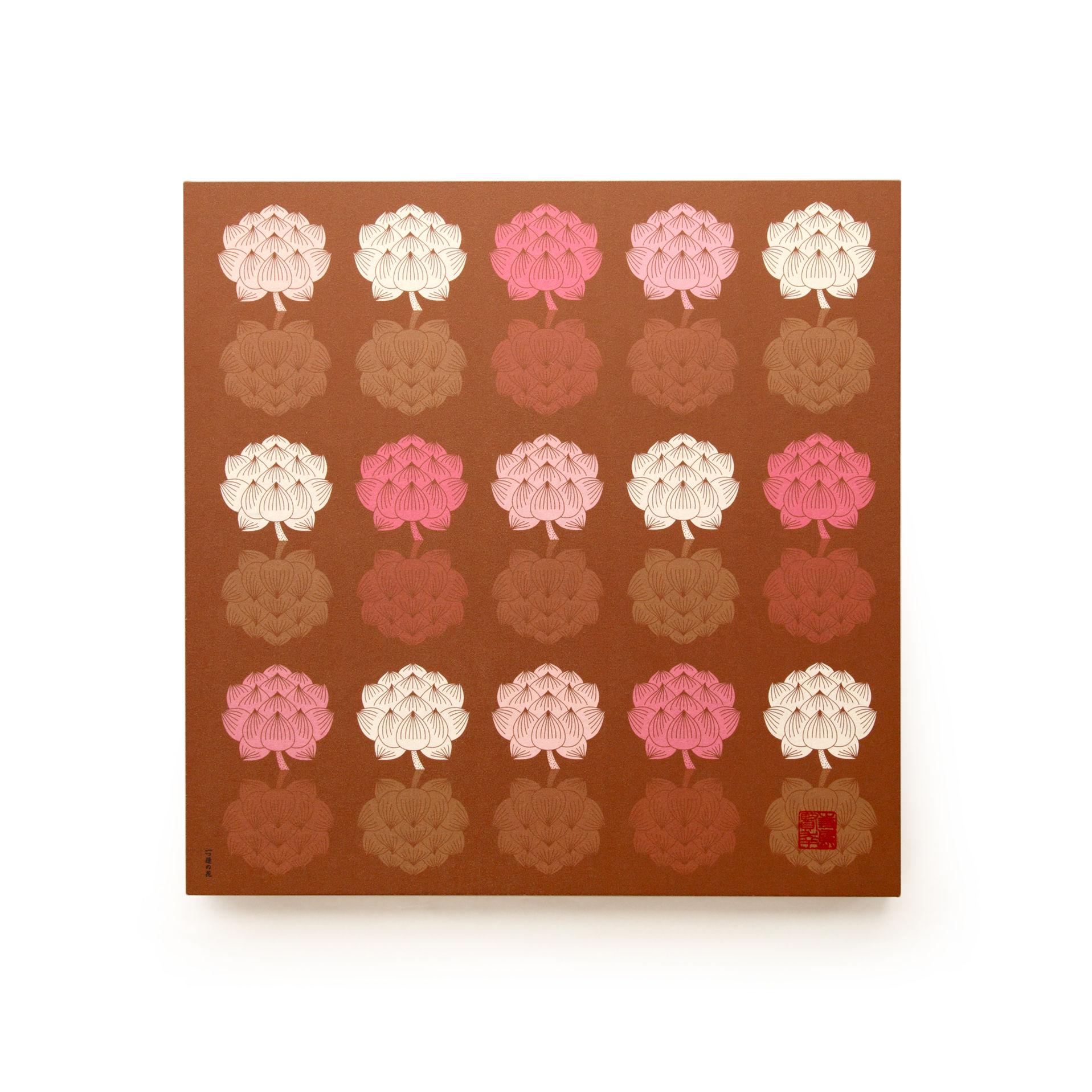 グラフィックパネル 「一つ蓮の花」