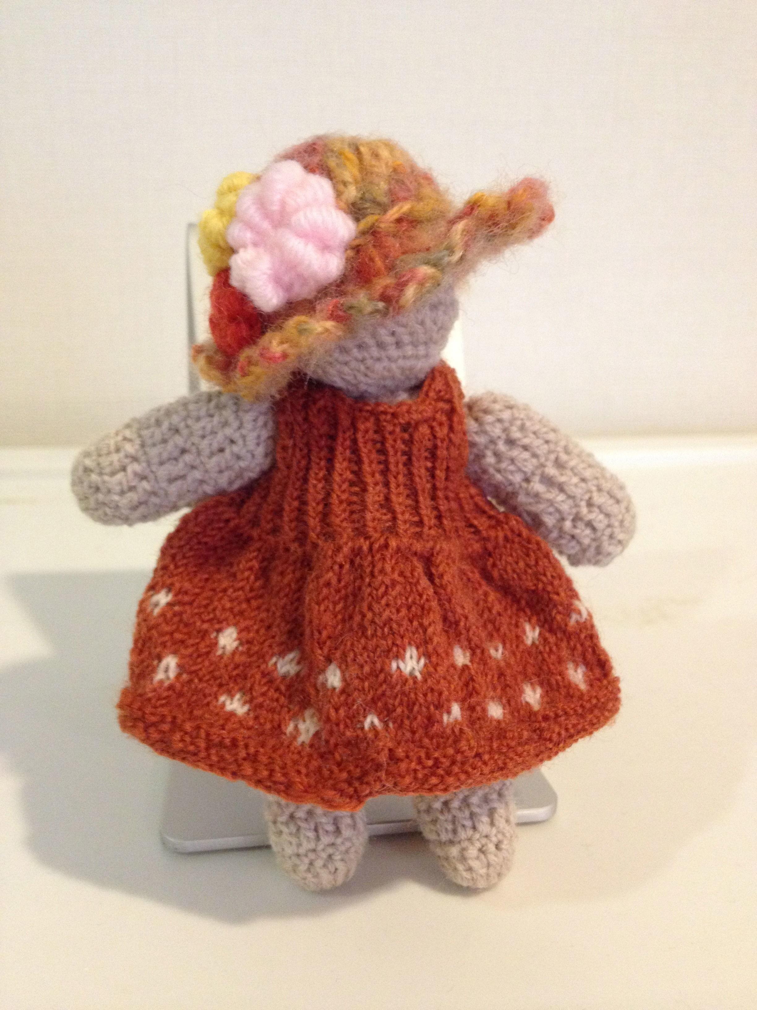 編みぐるみ MISETちゃん人形 小さな女の子