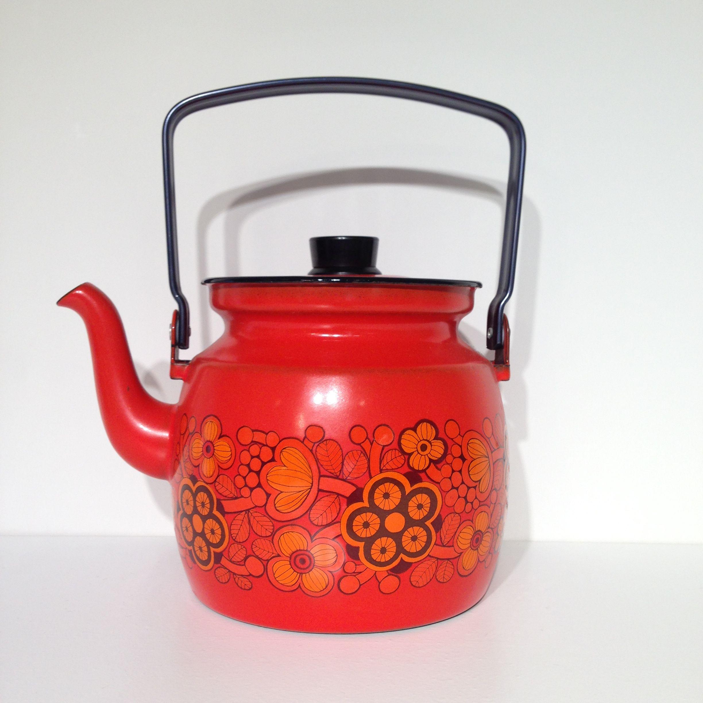 FINEL 赤花ケトル 1.5リットル finel-003
