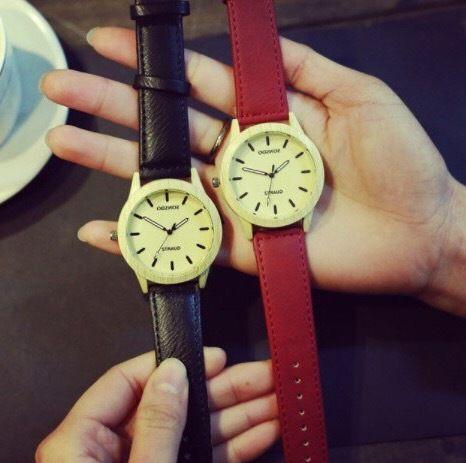 【ペア価格】ウッドテイストペアウォッチ 腕時計 メンズ レディース シンプル ギフト 人気 プレゼント 時計 おしゃれ 安い かわいい プチプラ ブレスレット