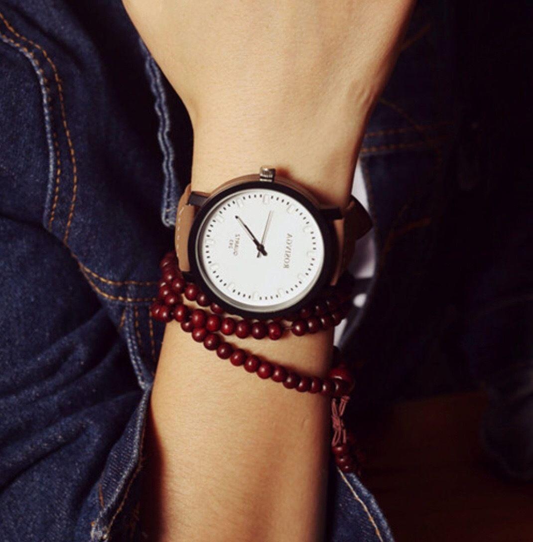 シンプルウォッチ ホワイト  腕時計 メンズ レディース シンプル ギフト 人気 プレゼント 時計 おしゃれ 安い かわいい プチプラ ブレスレット 白