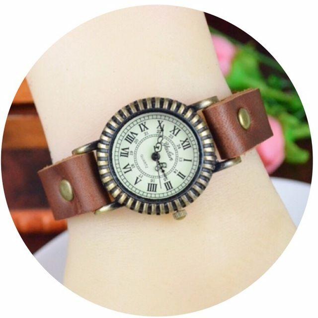 レザーが可愛い腕時計 ペアウォッチ メンズ レディース シンプル ギフト 人気 プレゼント 時計 おしゃれ 安い かわいい プチプラ ブレスレット 敬老の日 ライトブラウン 茶色 レザー