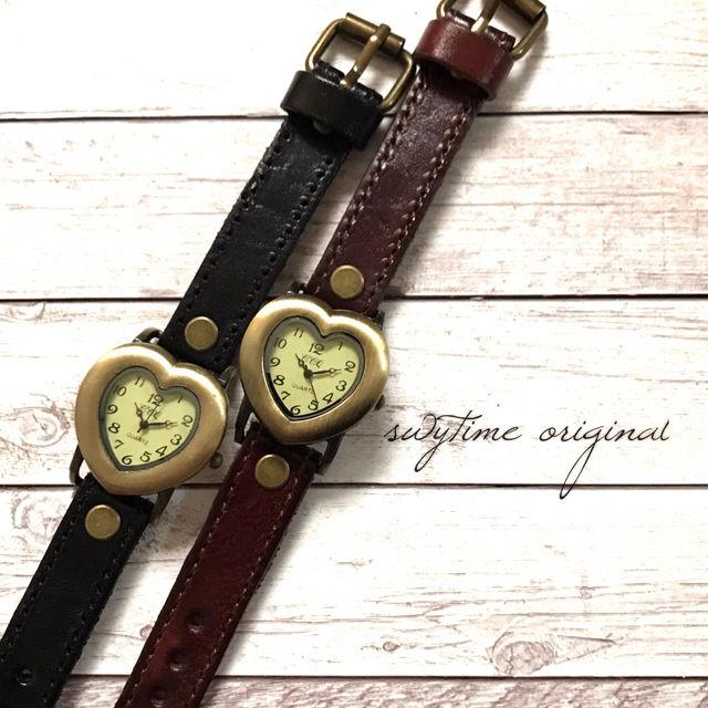 【ペア価格】レザーペアウォッチ 腕時計  メンズ レディース シンプル ギフト 人気 プレゼント 時計 おしゃれ 安い かわいい プチプラ ブレスレット 激安 ブラック×ライトブラウン レザー