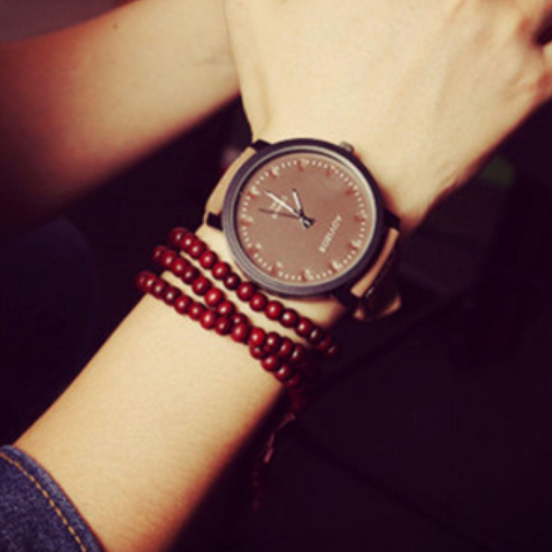 シンプルウォッチ ブラウン  腕時計 メンズ レディース シンプル ギフト 人気 プレゼント 時計 おしゃれ 安い かわいい プチプラ ブレスレット