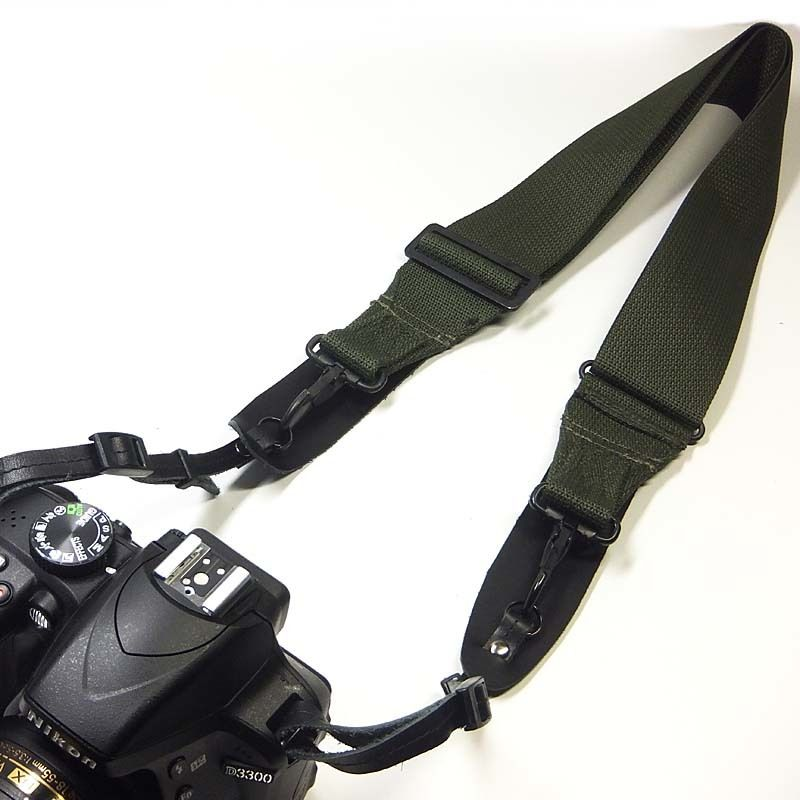 ミリタリーカメラストラップ U.S.ARMY 80年代 アメリカ軍camera strap