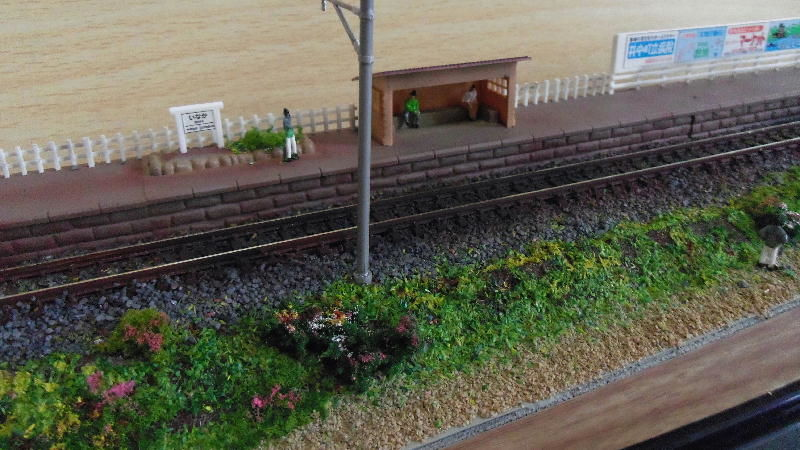 鉄道模型ジオラマ(田舎編)