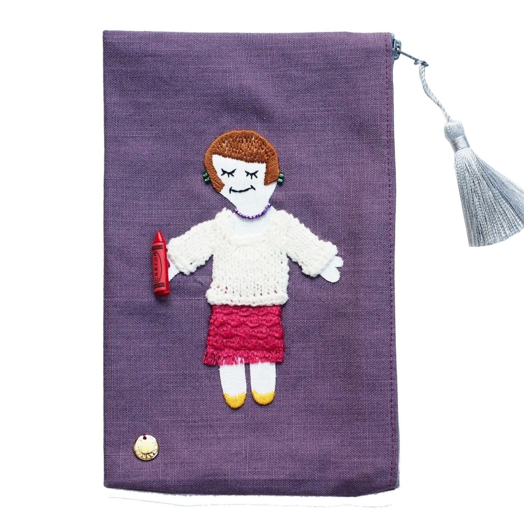 Autumn Pouch (Purple)