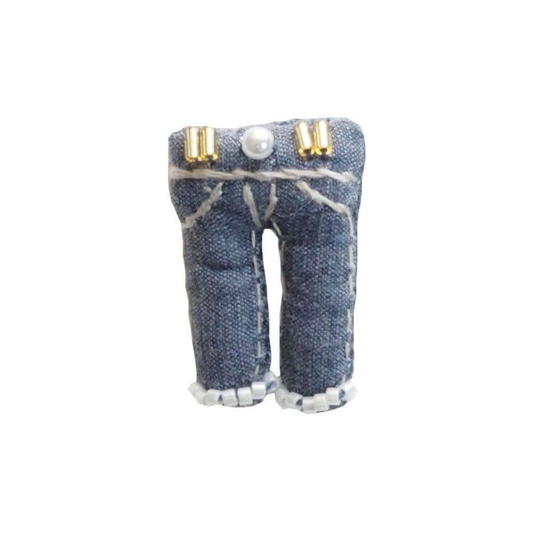 Miniature Jeans Brooch