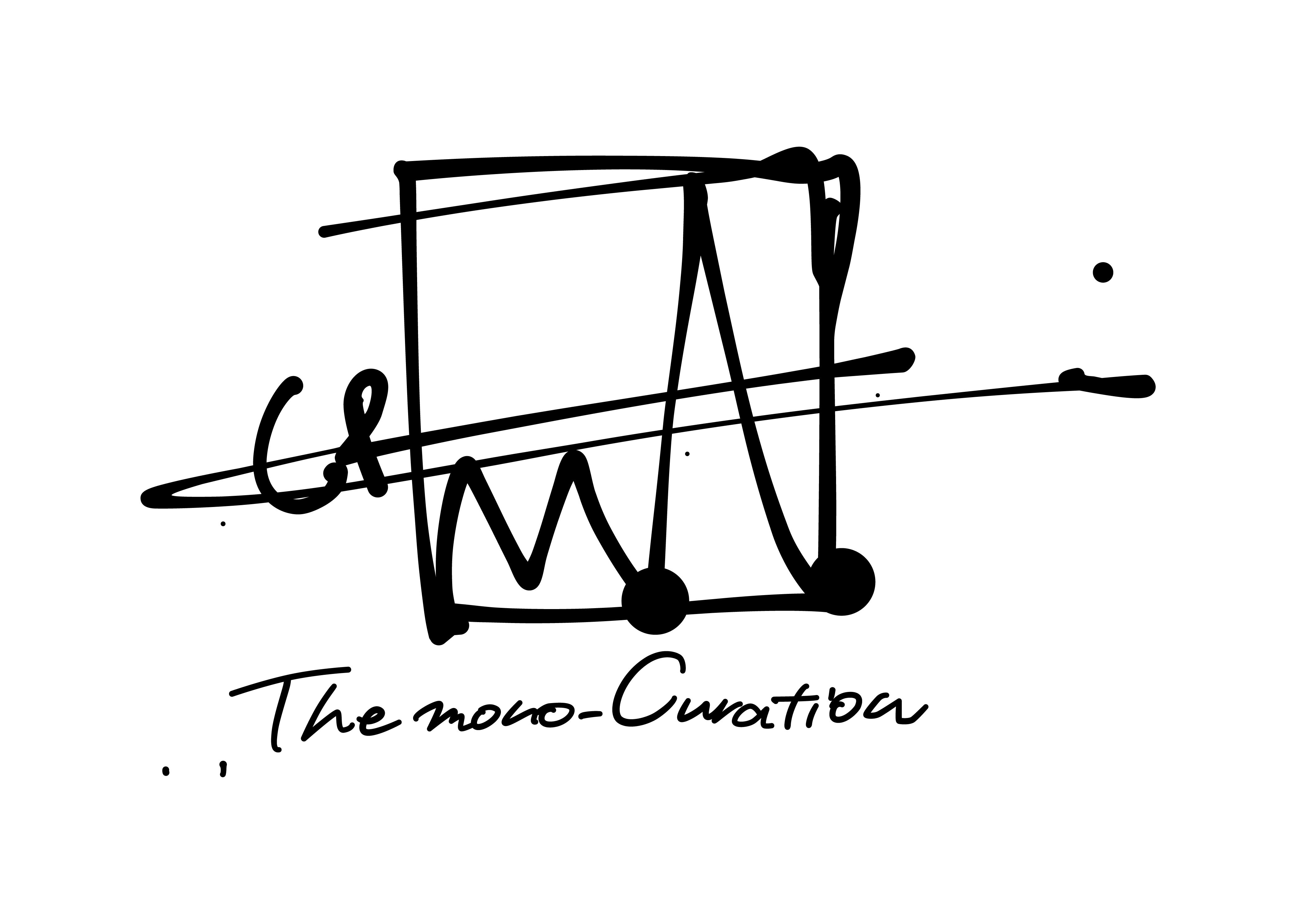 The mono-Curation ロゴステッカー