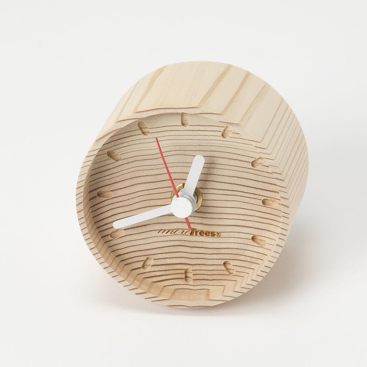 年輪の置時計 (mt1101)