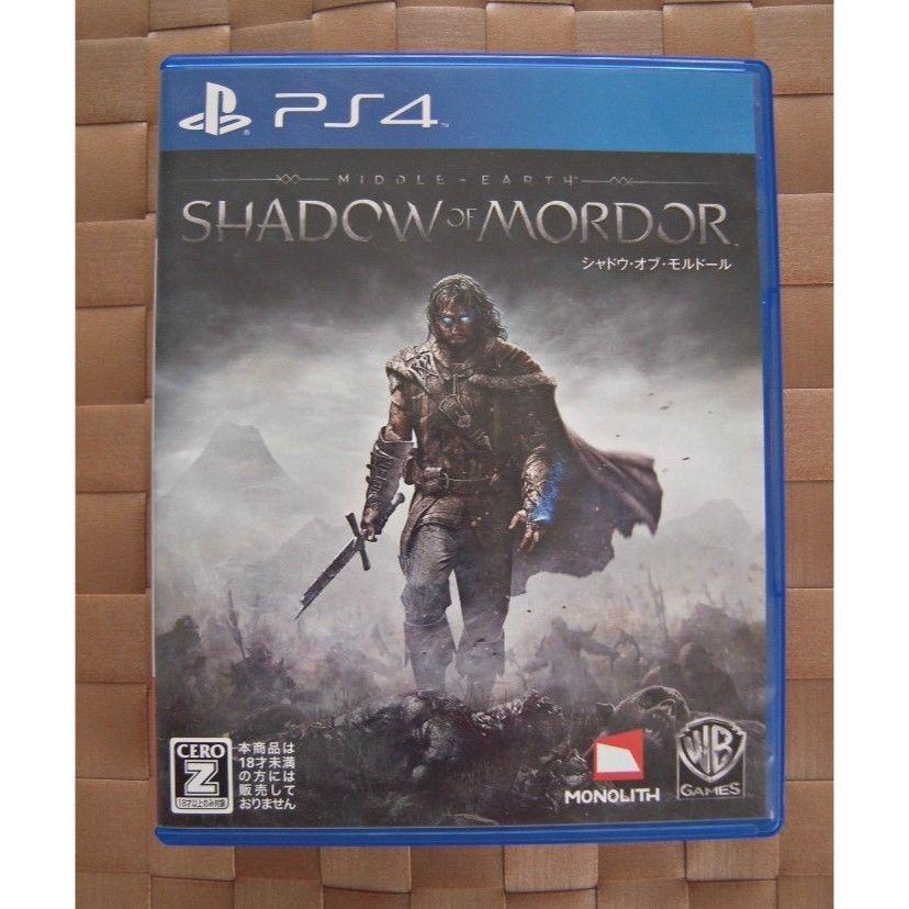 シャドウ・オブ・モルドール PS4 ソフト 1点
