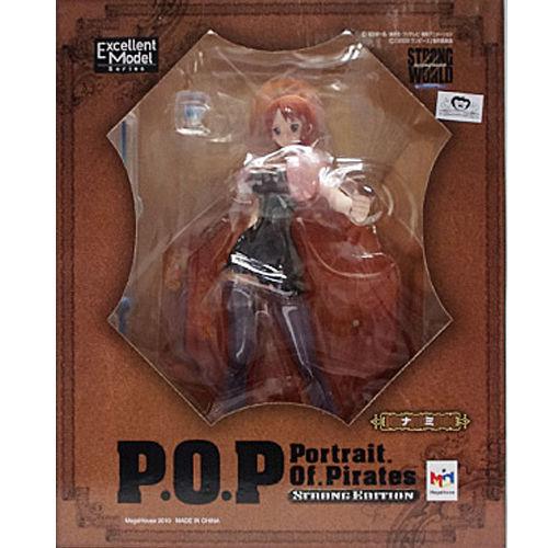 【未開封】ワンピース Portrait.Of.Pirates ナミ POP フィギュア  ゛STRONG EDITION゛ONE PIECE ワンピース フィギュア  メガハウス 国内正規品  【代引き不可】  h-o-mh-44
