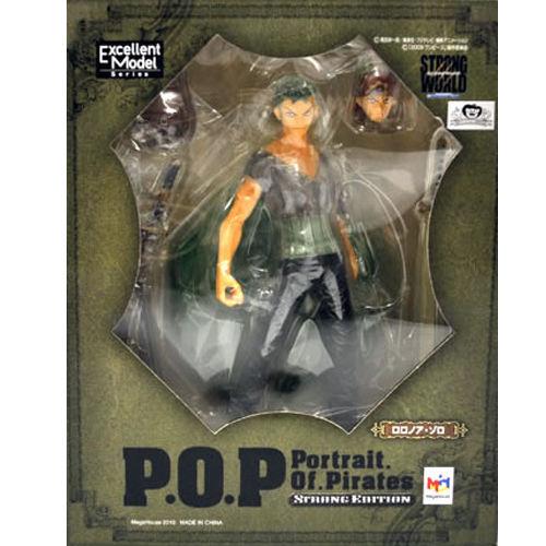 【未開封】ワンピース Portrait.Of.Pirates ロロノア・ゾロ POP フィギュア ゛STRONG EDITION゛ワンピース ONE PIECE フィギュア  メガハウス 国内正規品【代引き不可】  h-o-mh-45