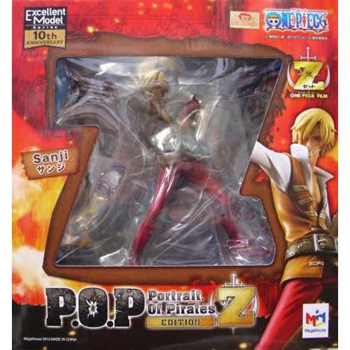 【未開封】ワンピース Portrait.Of.Pirates サンジ POP フィギュア  ゛EDITION-Z゛ONE PIECE ワンピース フィギュア メガハウス 国内正規品【代引き不可】  h-o-mh-118