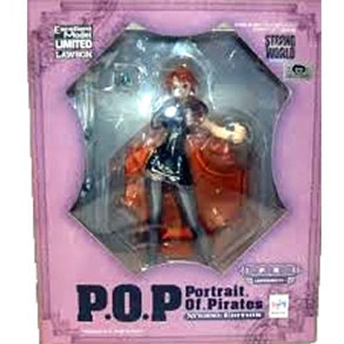 【未開封】ワンピース Portrait.Of.Pirates ナミ ローソン限定カラー POP フィギュア  ゛STRONG EDITION゛ワンピース ONE PIECE フィギュア  メガハウス 国内正規品【代引き不可】  h-o-mh-133