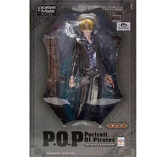【未開封】ワンピース Portrait.Of.Pirates サンジ POP フィギュア  ゛STRONG EDITION゛ONE PIECE ワンピース フィギュア メガハウス 国内正規品【代引き不可】  h-o-mh-54