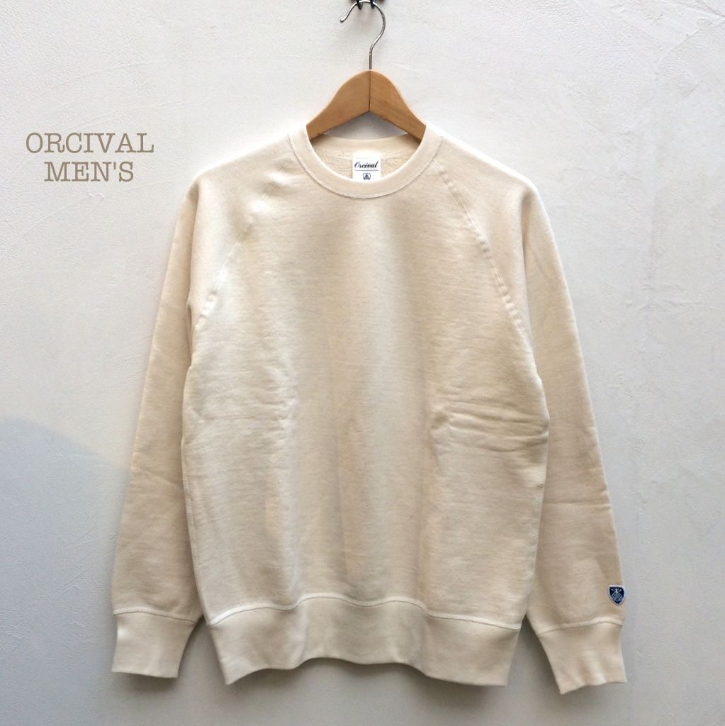【メンズ】Orcival(オーシバル) フレンチテリー クルーネックスウェットプルオーバー [RC-9036]