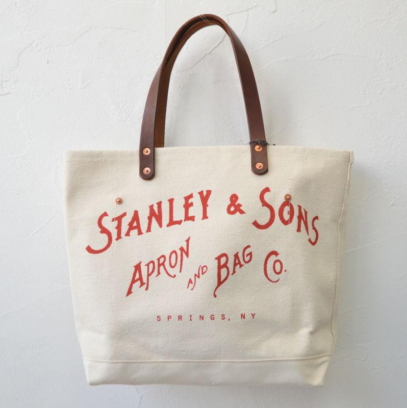 Stanley & Sons(スタンレーアンドサンズ)キャンバストートバッグS B025
