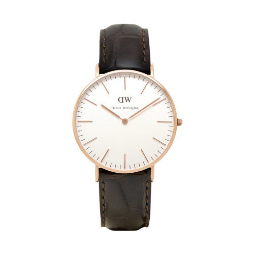 Daniel Wellington (ダニエル ウェリントン) - York - Rose gold 36mm