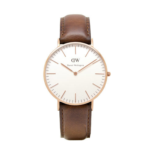 Daniel Wellington (ダニエル ウェリントン) - St Andrews - Rose gold 36mm