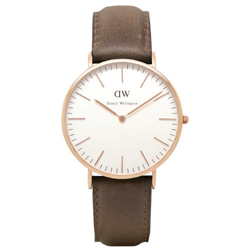 Daniel Wellington (ダニエル ウェリントン) - Cardiff  - Rose gold 40mm