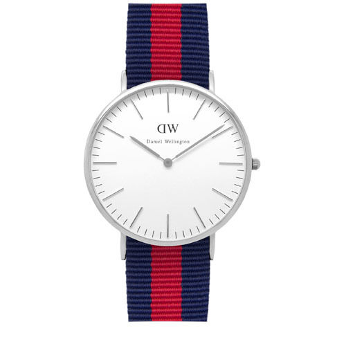 Daniel Wellington (ダニエル ウェリントン) - Oxford - Silver 40mm