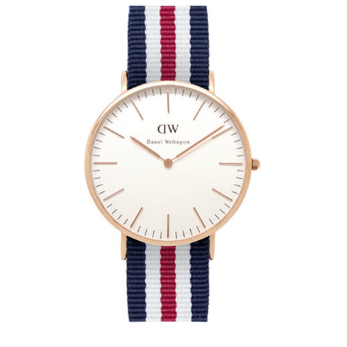 Daniel Wellington (ダニエル ウェリントン) - Canterbury- Rose gold 40mm