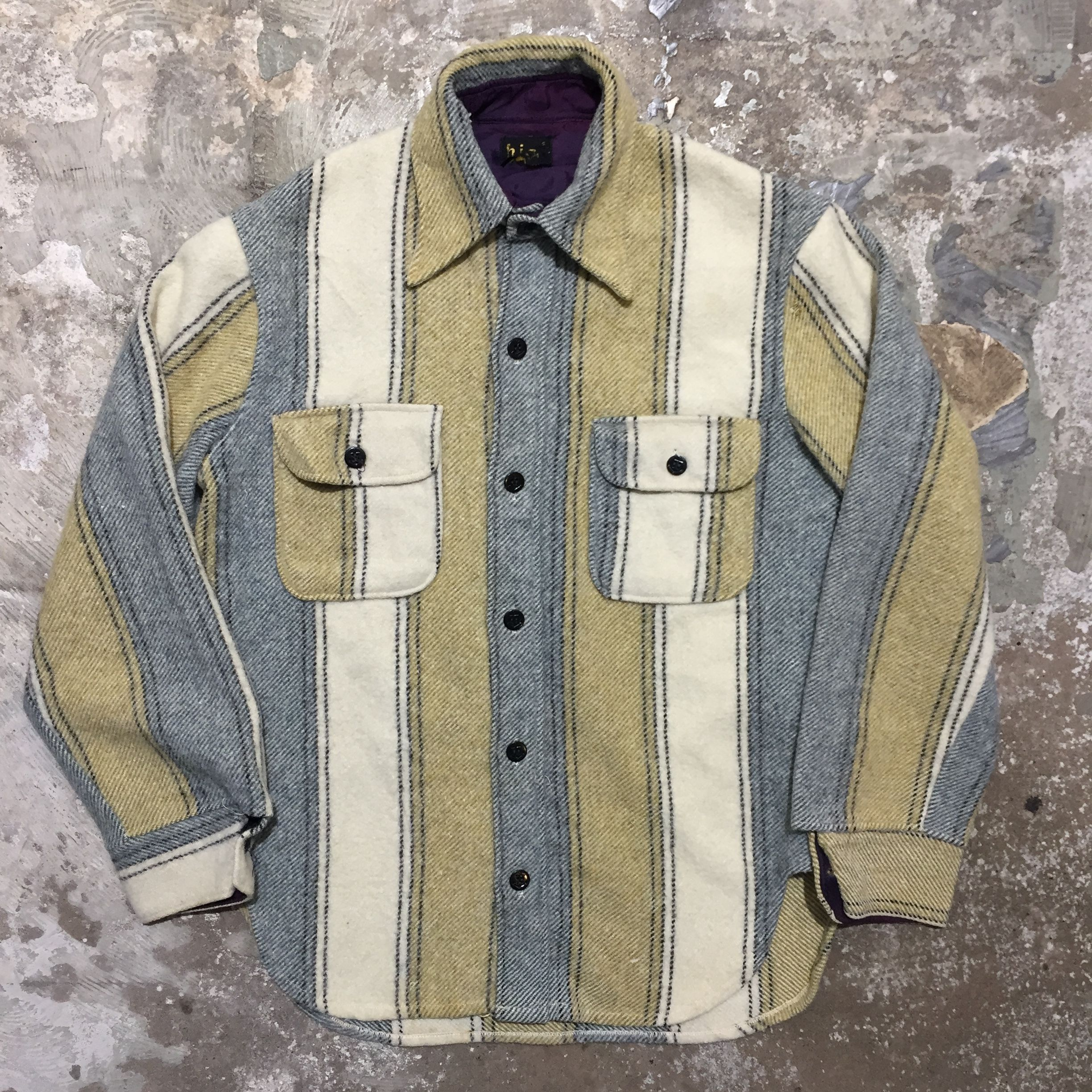 70's CPO Wool Shirt