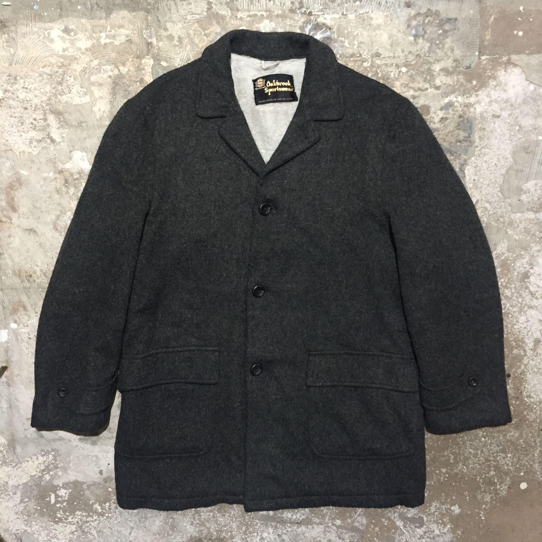 60's Oakbrook Sportswear Chesterfield Coat