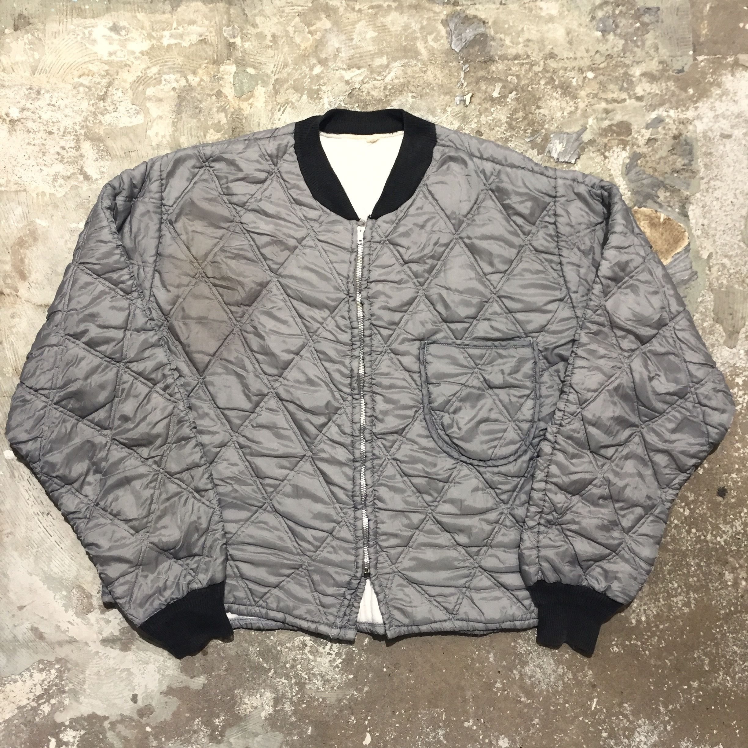 70's Unknown Quilting Jacket