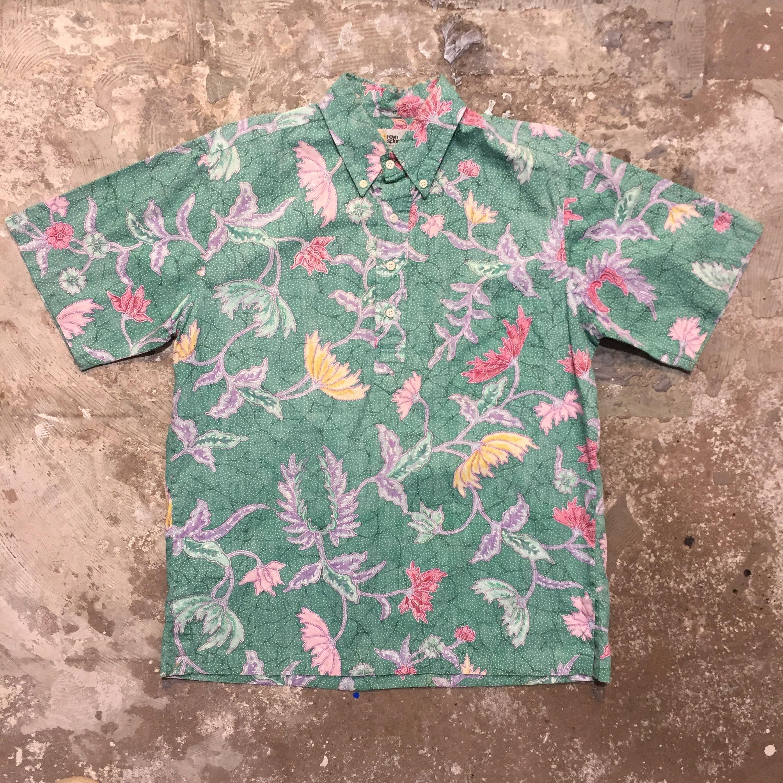 80's Reyn Spooner  Pullover Aloha Shirt