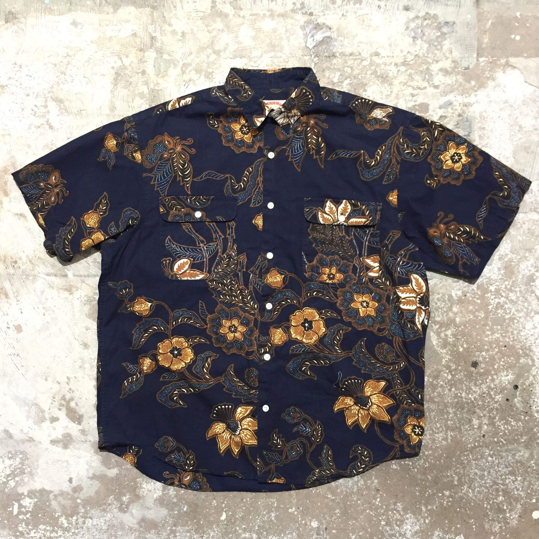 90's BANANA REPUBLIC Cotton Aloha Shirt