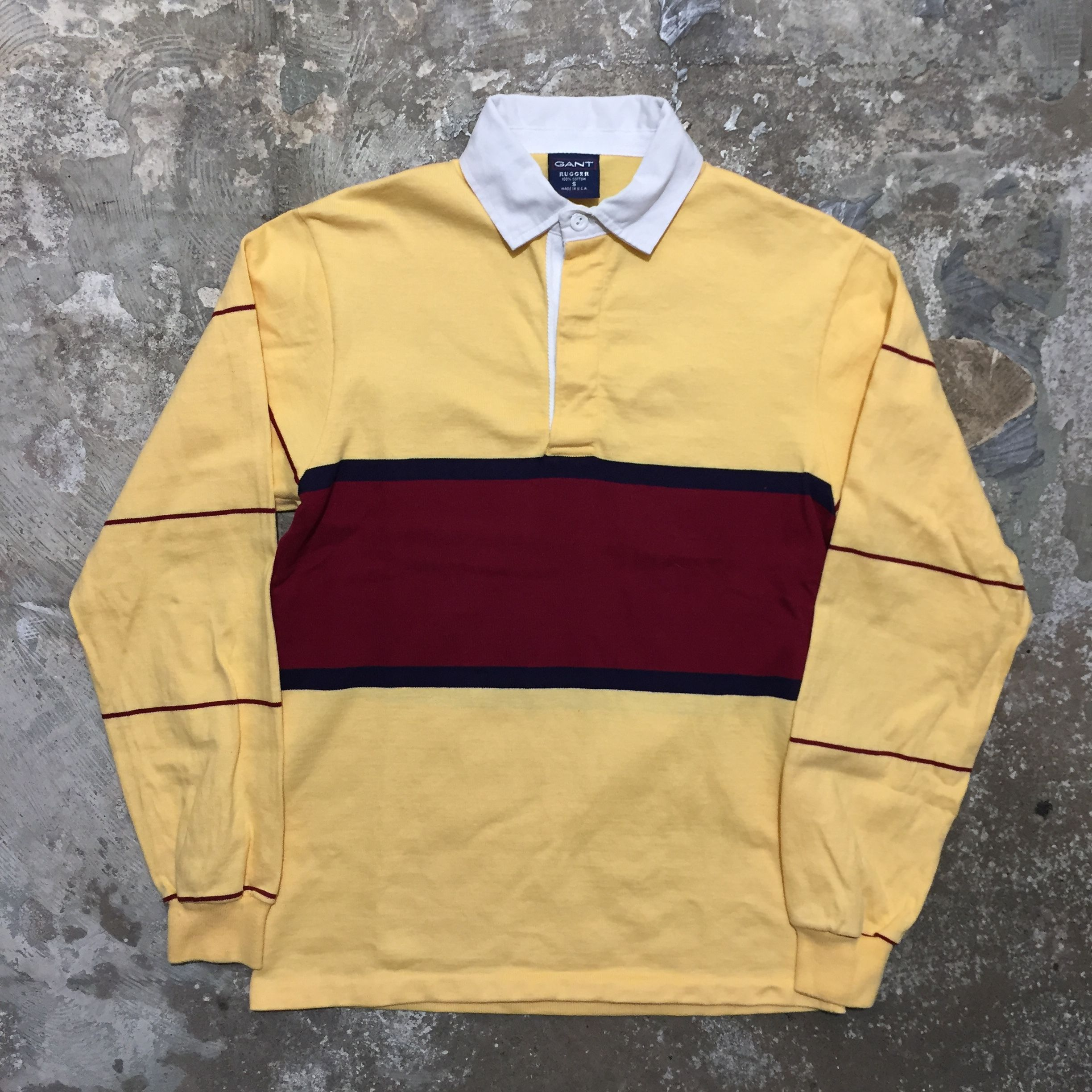 90's  GANT Rugby Jersey S
