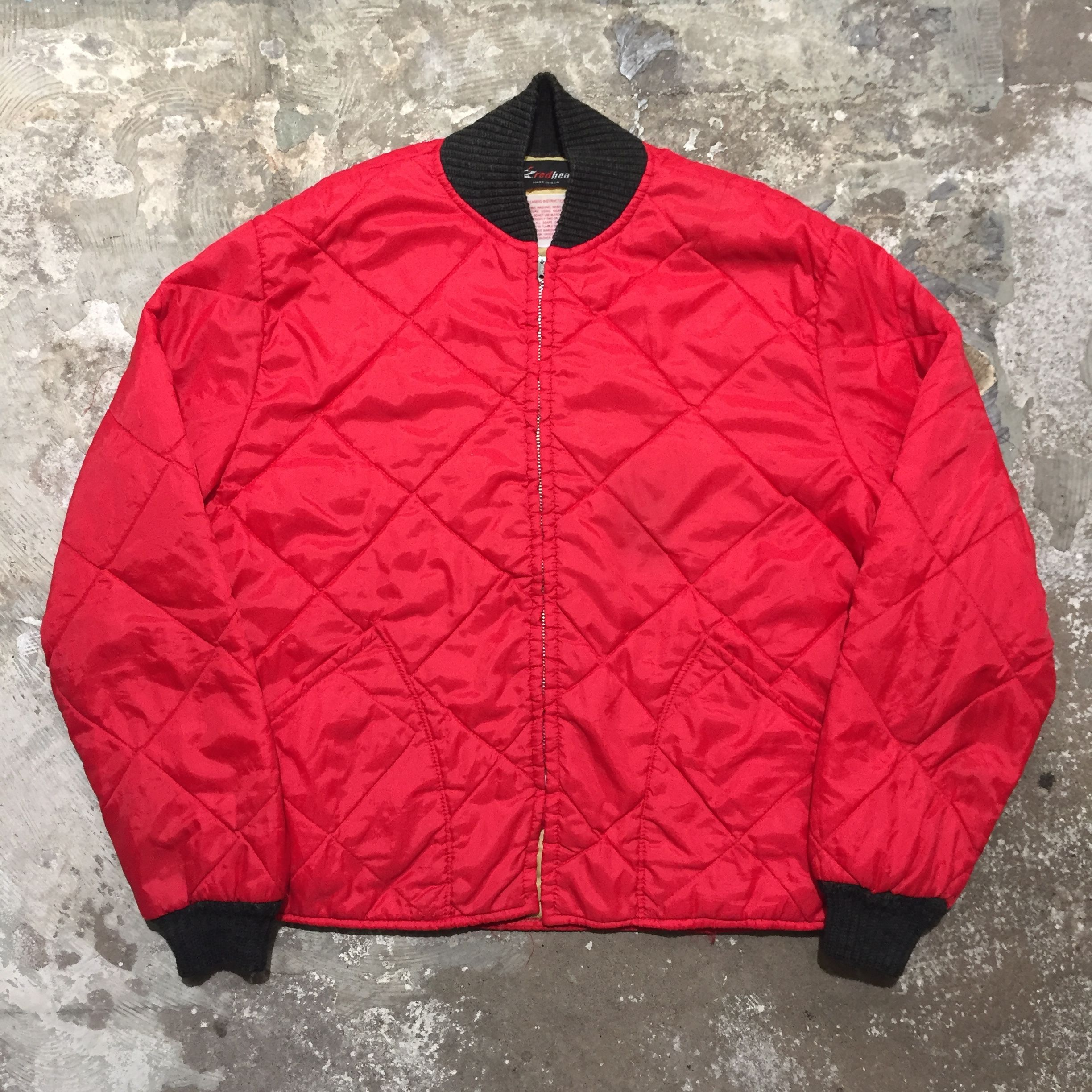 ~80's redhead Quilted Jacket