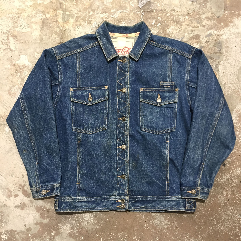 90's Coca-Cola Denim Jacket