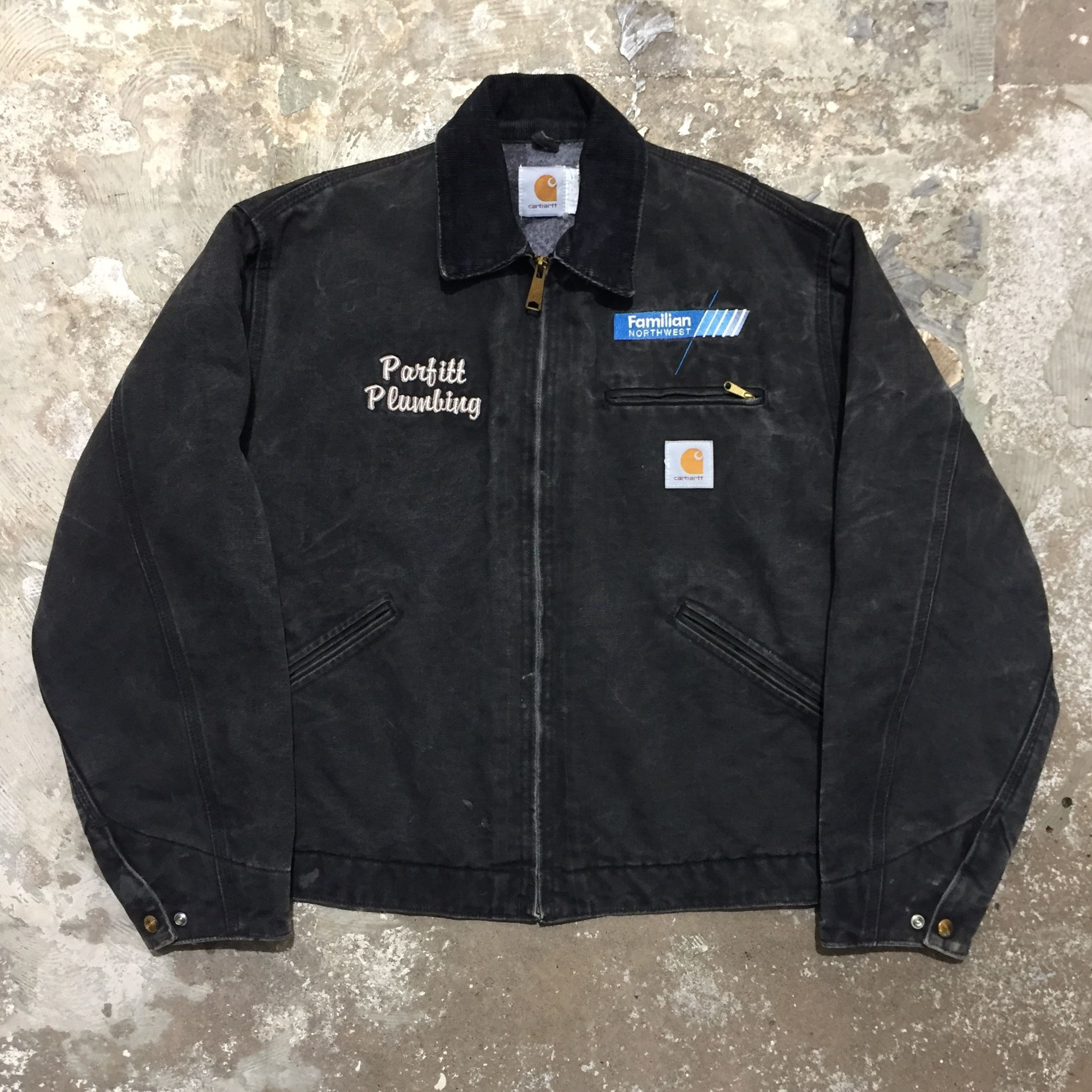 90's Carhartt Detroit Jacket BLACK