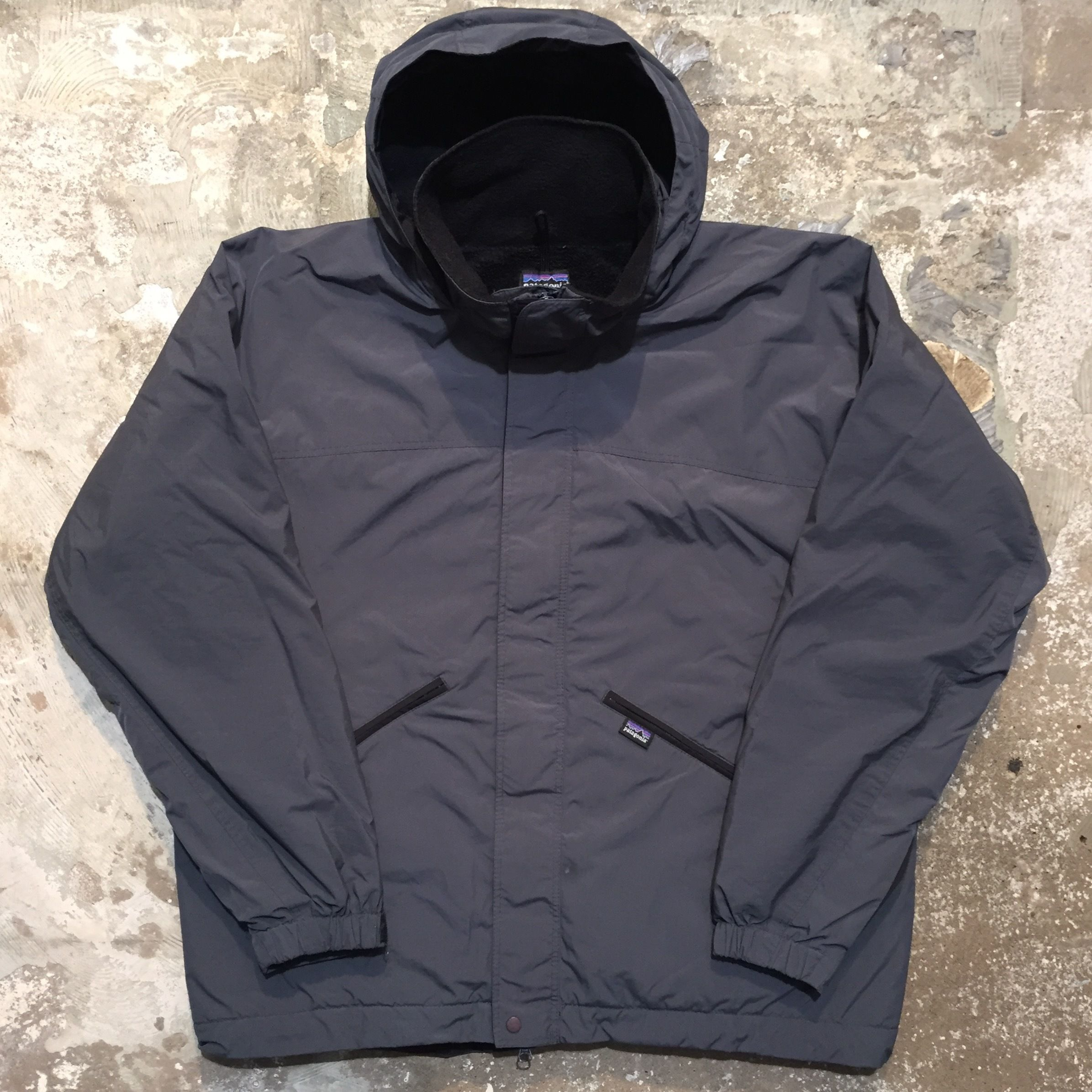 90's Patagonia Fleece  Lined Nylon Jacket