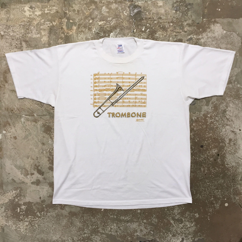 90's JERZEES TROMBONE Tee