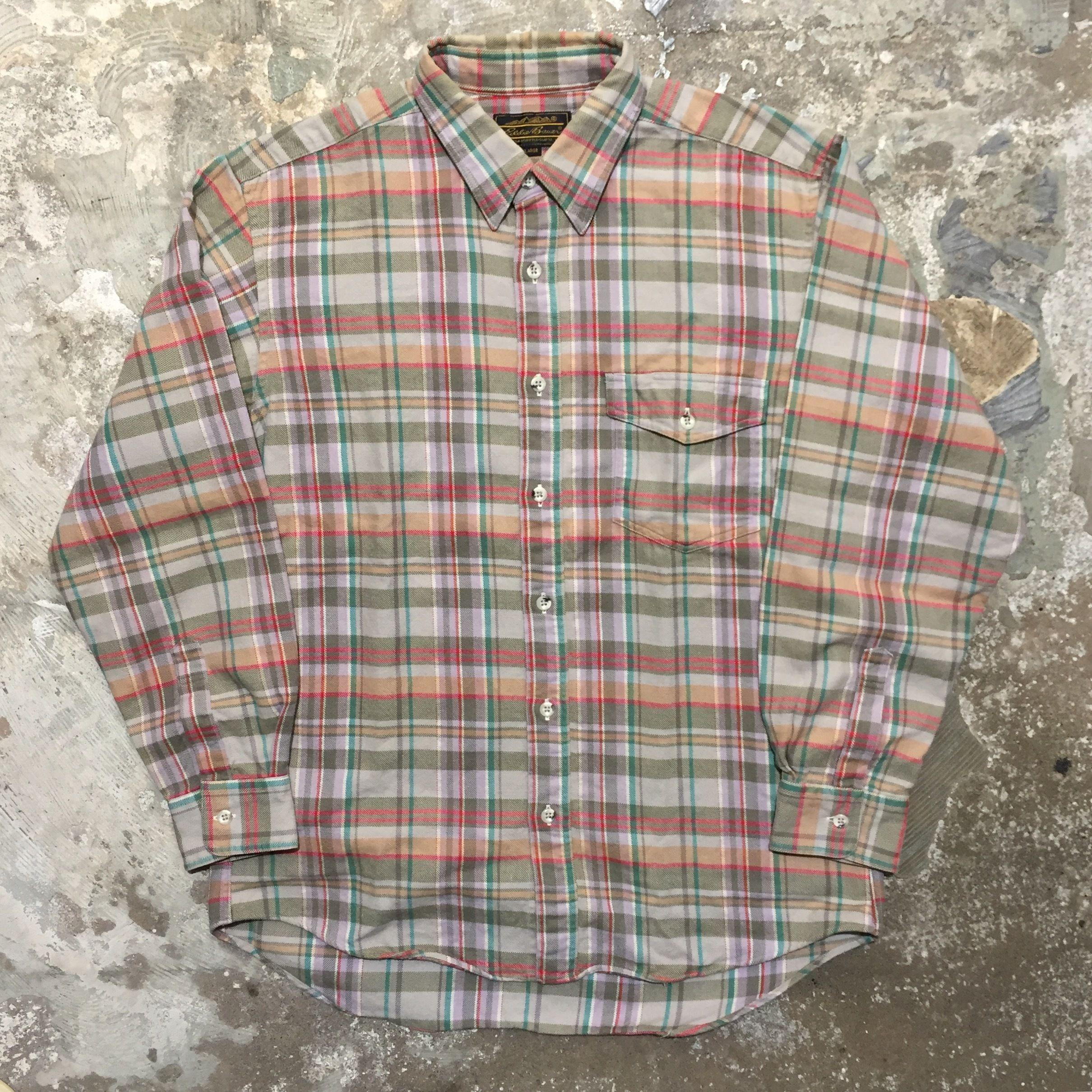 Eddie Bauer Light Flannel Shirt
