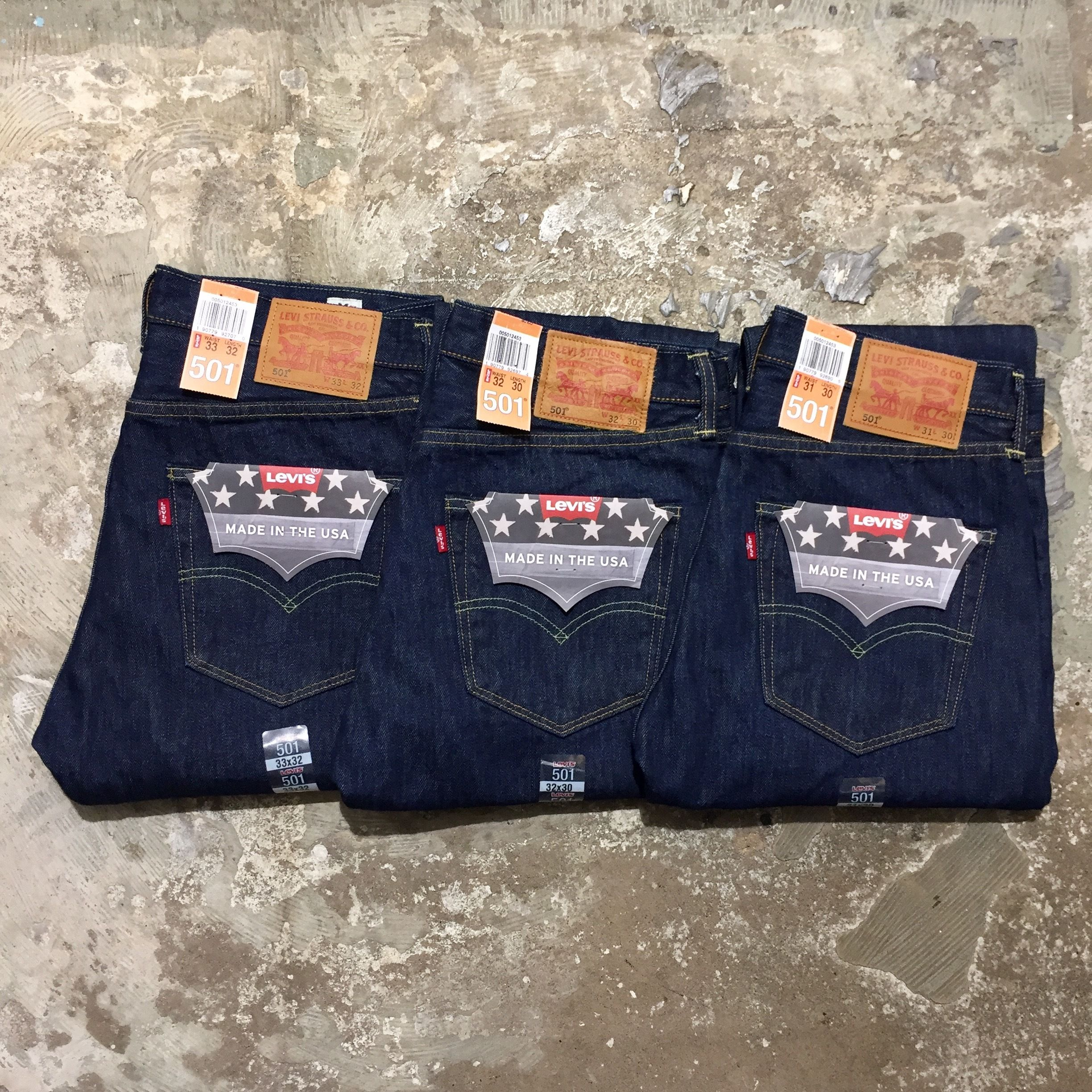 Levi's 501-2453 Denim Pants MADE IN USA (NEW)
