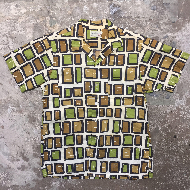 60's Lusterana Cotton Aloha Shirt