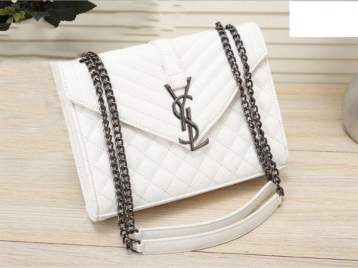 大人気イヴ・サンローラン バック レディース 定番カラー 可愛い  美品 カジュアル ハンドバッグ