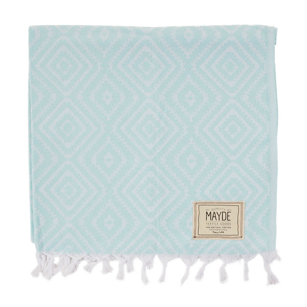 MAYDE - CLOVELLY TOWEL - MINT