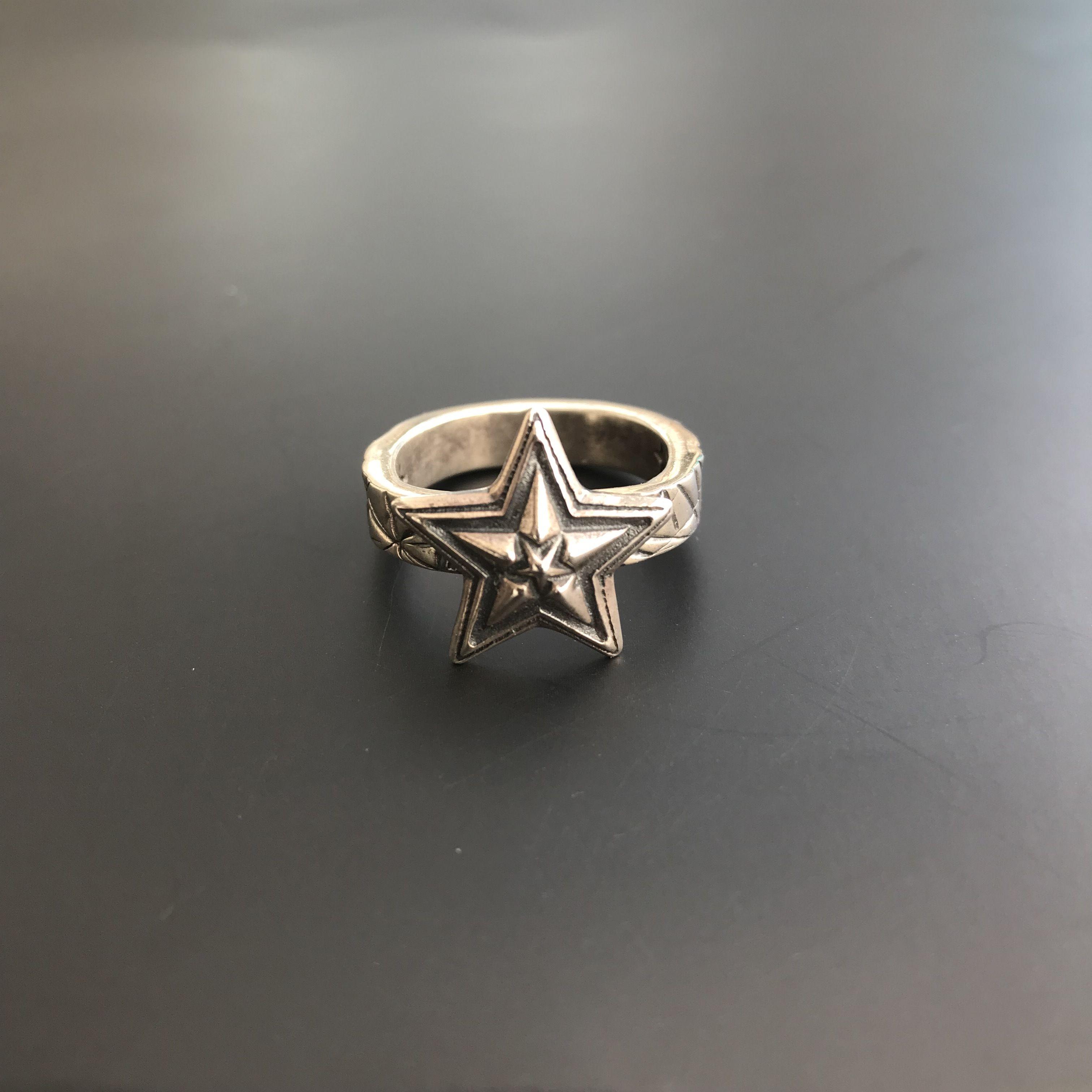 CODY SANDERSON - Ring Tiny Star In Star w/Cat Scratch