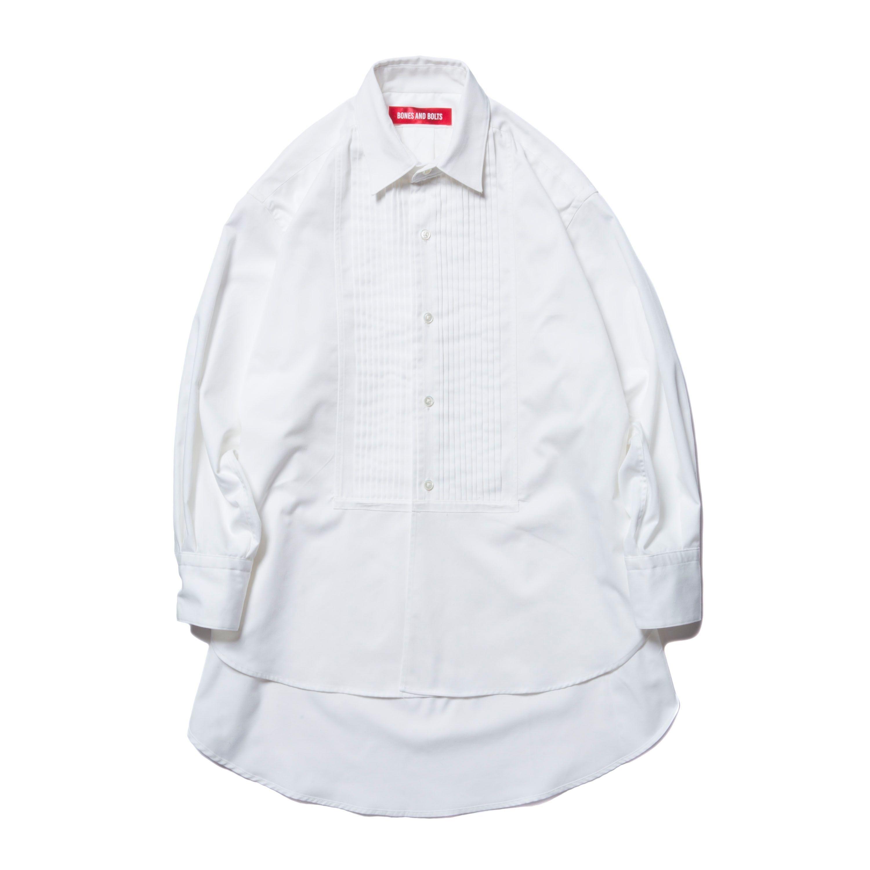 BONES AND BOLTS - SNELLEN DRESS SHIRT (OFF WHITE)