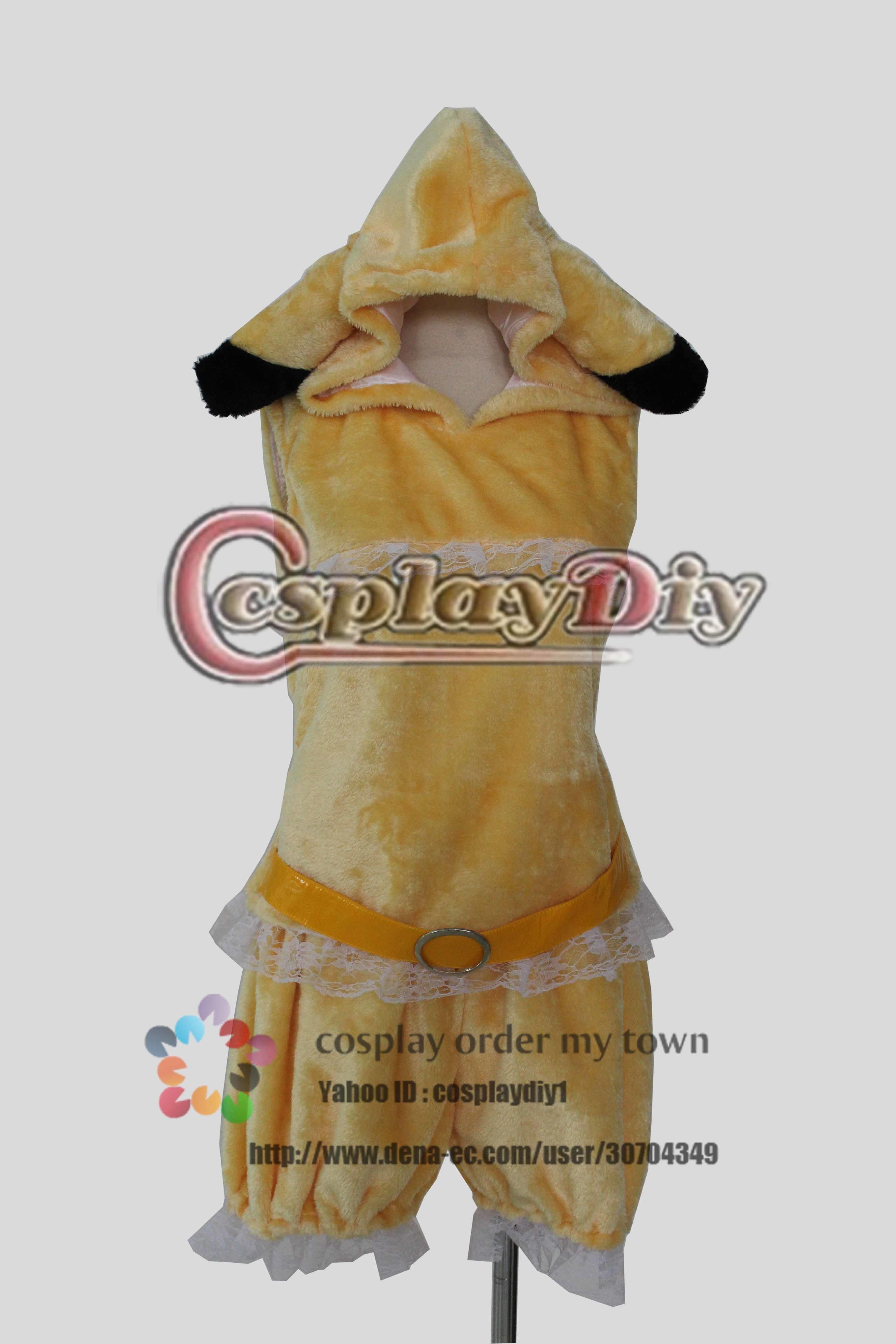 高品質 高級コスプレ衣装 ももいろクローバーZ ももクロ ポケモン風 コスチューム 玉井詩織 タイプ