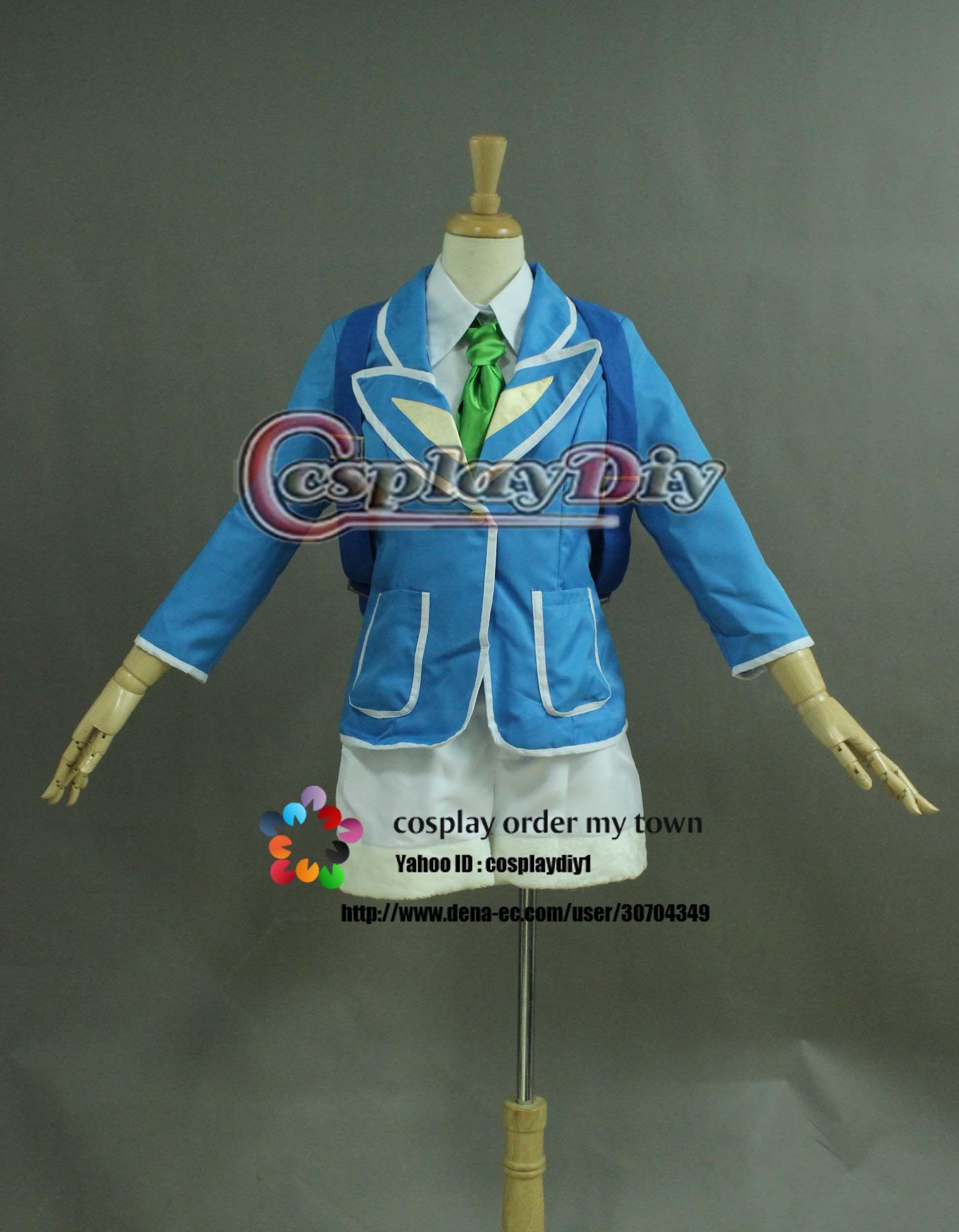 高品質 高級コスプレ衣装 ディズニーランド風 ハロウィン イースターダンサー衣装 ブルー タイプ サイズオーダー