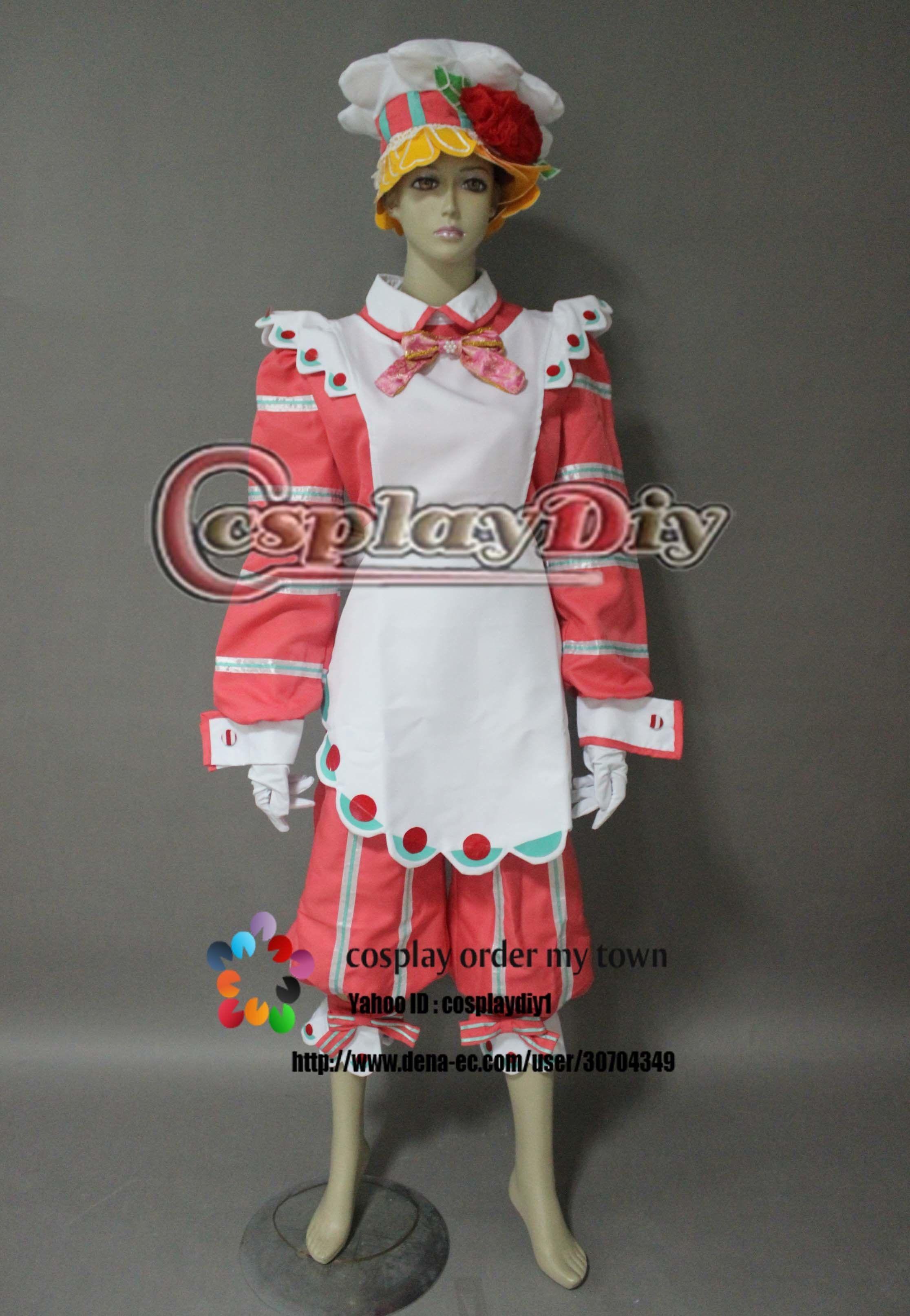 高品質 高級コスプレ衣装 ディズニーランド ハロウィン イースターワンダー サンタヴィレッジダンサー パティシエ 風 ダンサー衣装
